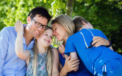 Gezinsfotografie: kennismaking met Florine & Olav