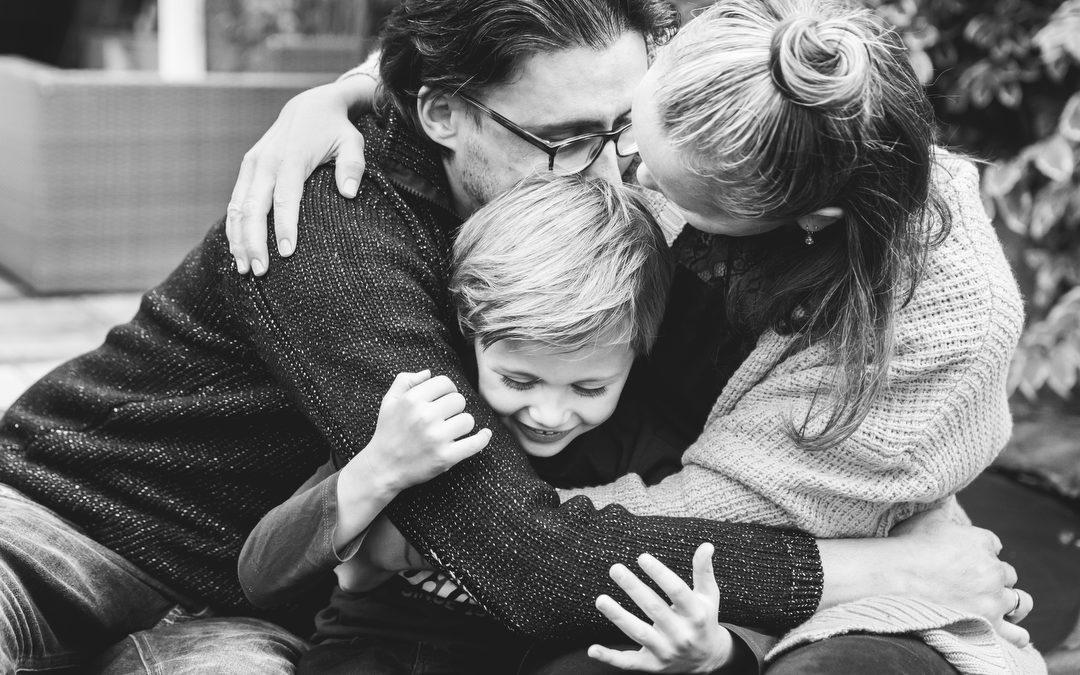 Familieshoot Amstelveen: Jordy, Dagmar en Julius