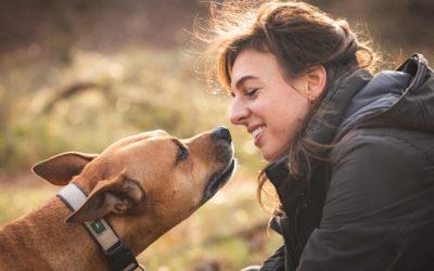 Hond en baasje: Marijke en Luuk